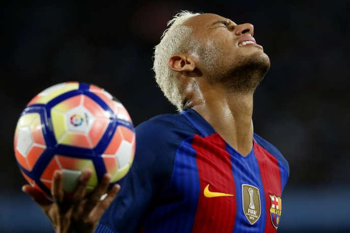 Neymar, le 21 septembre 2016 à Barcelone.