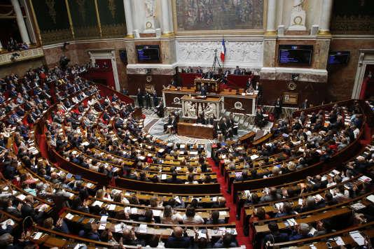 L'Assemblée nationale, le 4 juillet.