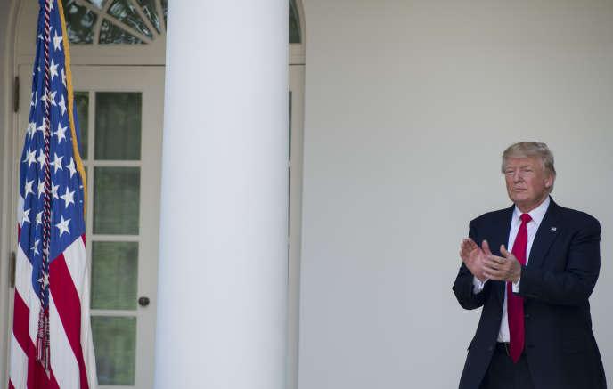 A la Maison Blanche, le 26 juillet.
