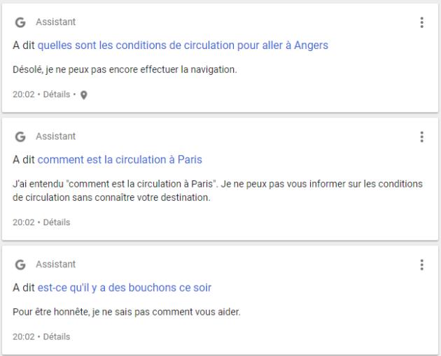 Les échanges avec l'assistant sont parfois frustrants, y compris pour des fonctionnalités proposées par ailleurs par Google.