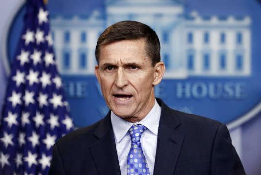 Michael Flynn, le 1er février à la Maison Blanche.