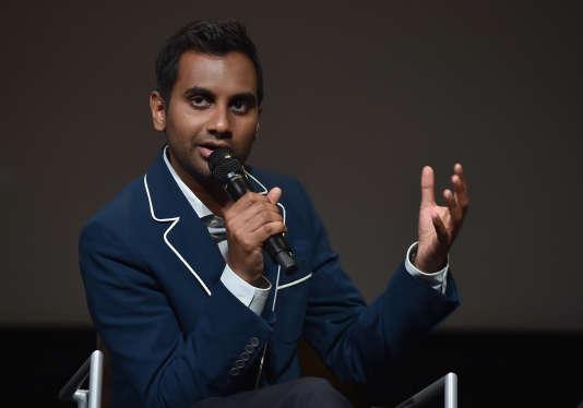 L'humoriste, acteur, producteur, réalisateur et écrivain américain Aziz Ansari, en juin 2017.
