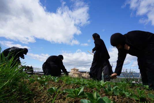 Les moniales de Solan cultivent aussi des fruits et légumes