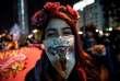 Manifestation pour le droit à l'avortement à Santiago (Chili), le 25 juillet.