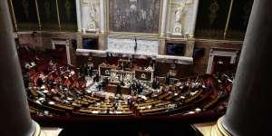 A l'Assemblée nationale, à Paris le 1er août.