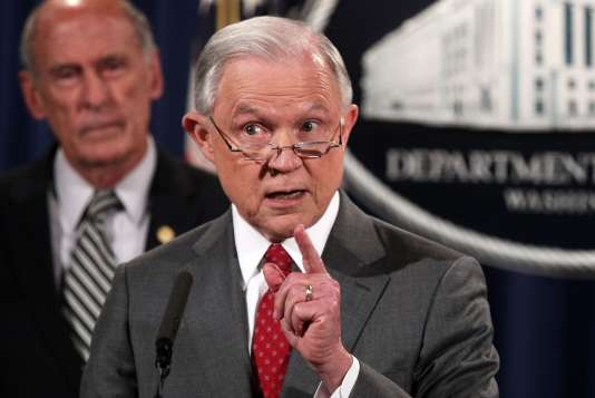 Jeff Sessions, le 4 août à Washington.