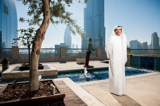 Mohamed Alabbar, à la tête du géant de l'immobilier Emaar, le 7 février 2013.