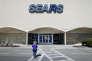 Devant un magasin Sears, à Springdale (Ohio), le 22 mars.
