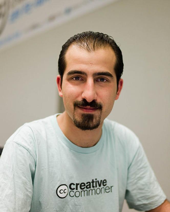 L'informaticien Bassel Khartabil Safadi, photographié à Séoul en 2010.