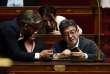 Le chef de file de La France insoumise, Jean-Luc Mélenchon, à l'Assemblée nationale à Paris le 1er août.
