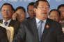Hun Sen, le 28 juin à Phnom Penh.