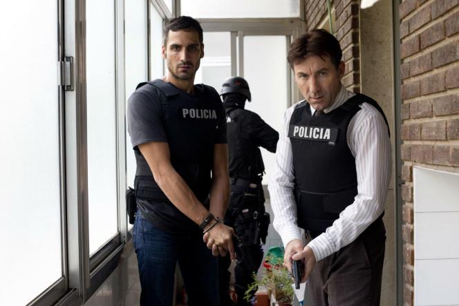 Raul Prieto etAntonio de la Torre dans le film espagnol deRodrigo Sorogoyen,«Que Dios nos perdone».