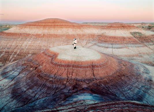 « Mars Desert Research Station #4 », San Rafael Swell, Utah, Etats-Unis, 2008.