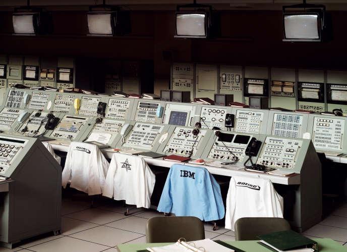 « Apollo Control Room », centre spatial John F. Kennedy, Floride, 2011.