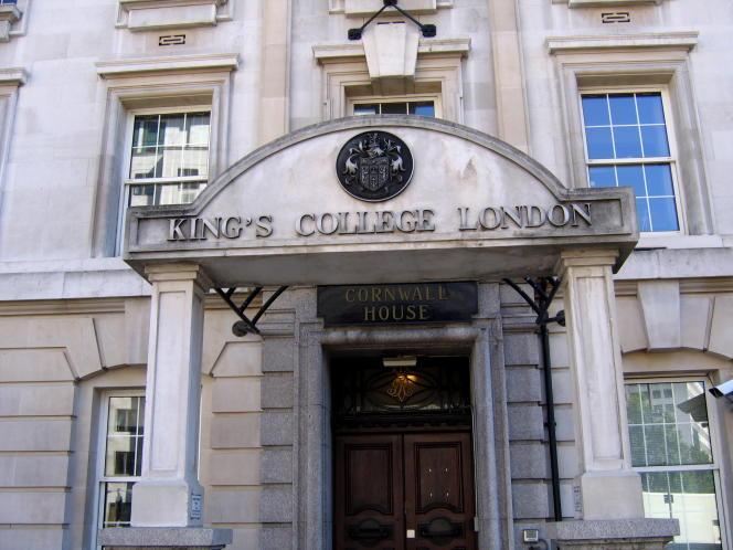 Le prestigieux King's College de Londres.