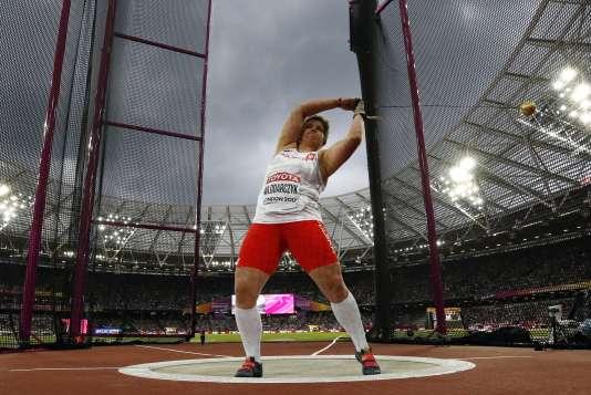 Anita Wlodarczyk est désormais triple championne du monde du lancer du marteau.