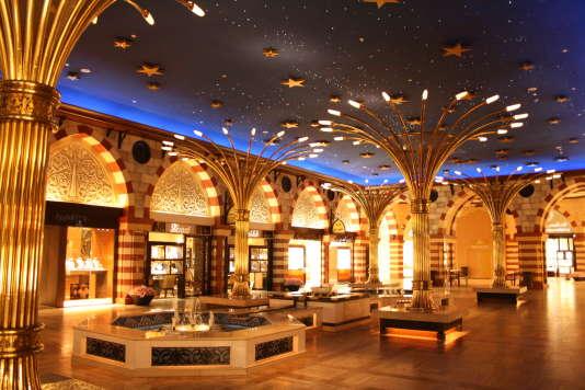 Le Dubai Mall, fin novembre 2009.