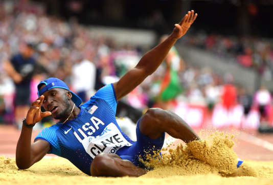 Will Clay s'est qualifié lundi pour la finale du triple saut à Londres.