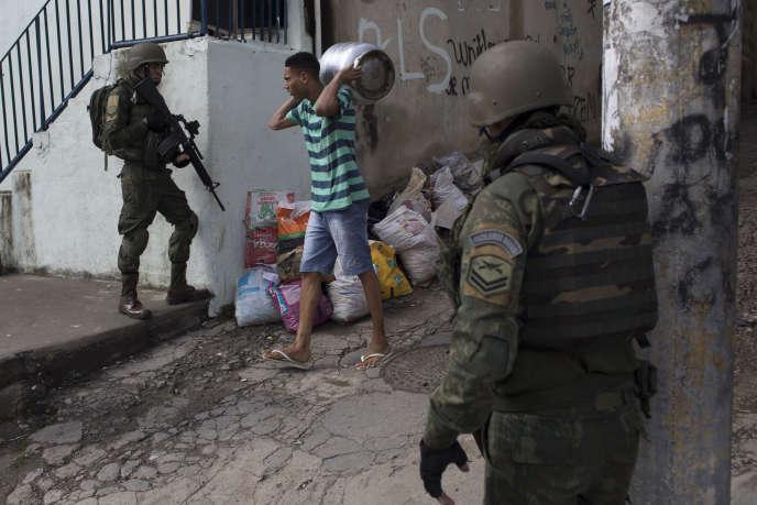 Dans le quartier de Lins de Vasconcelos, à Rio de Janeiro, le 5 août.