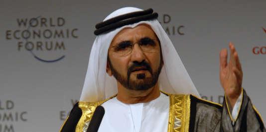 Cheikh Mohamed, en novembre 2008.