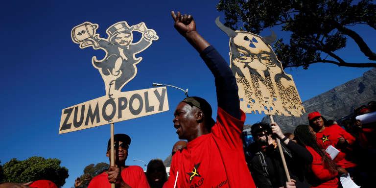 Jacob Zuma évite la motion de censure — Afrique du Sud
