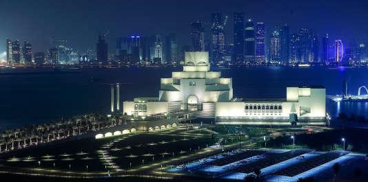 Doha, en août 2014. Le musée d'art islamique.
