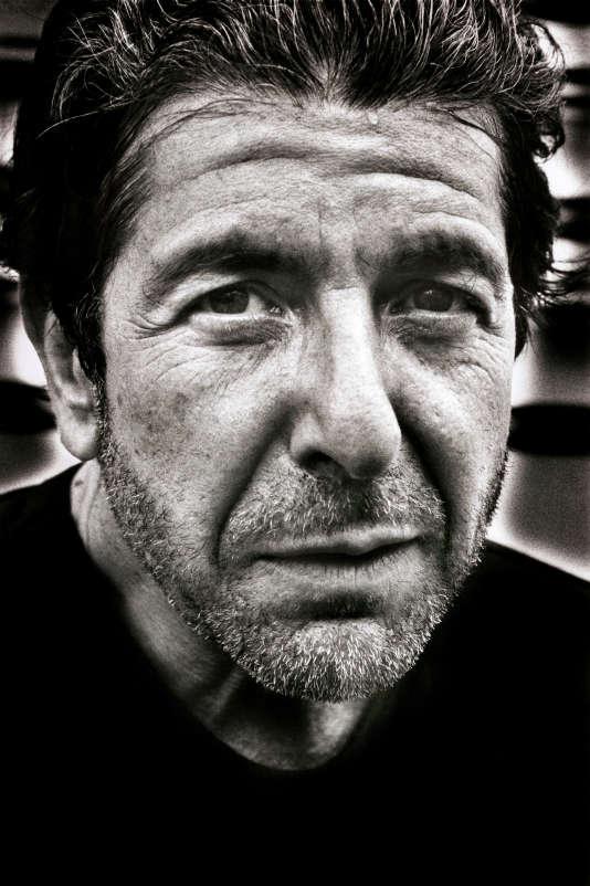 Leonard Cohen en 1985.