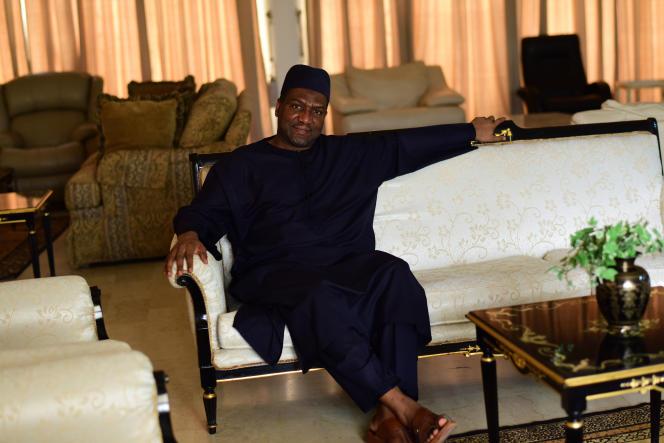 L'homme d'affaires Sani Dangote, frère d'Aliko Dangote, l'homme le plus riche d'Afrique, à Kano, au Nigeria, en mai 2017.