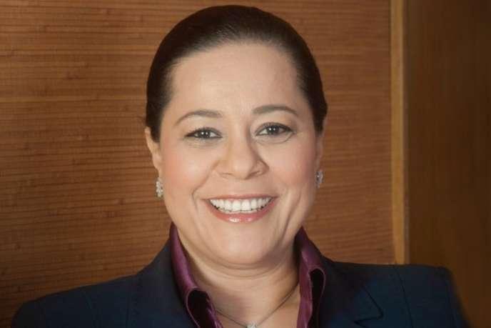 Miriem Bensalah-Chaqroun,présidente de la CGEM, le syndicat patronal marocain.