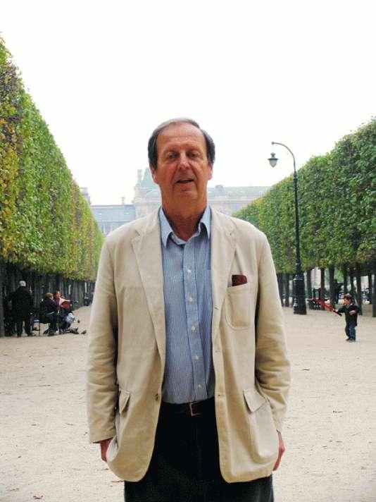 Paul Maubec à Paris, en 2005.