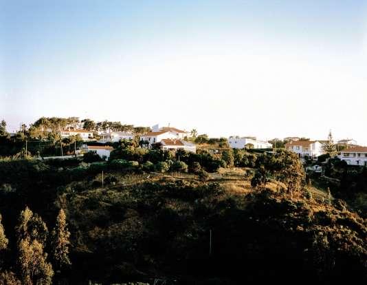 Le village d'Aljezur dans la région de l'Algarve.