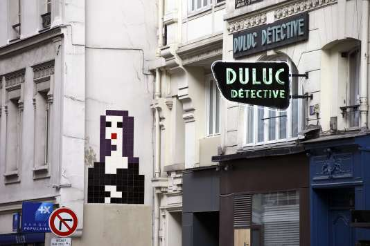 La « Joconde », ou PA_1097, rue du Louvre, à Paris.
