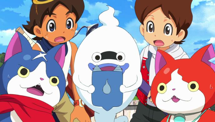 Dans le film, Nathan et son grand-père doivent s'associer pour comprendre les origines de la Yo-Kai watch.