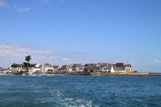 L'Ile-Tudy dans le Finistère à quelques encablures du port de Loctudy.