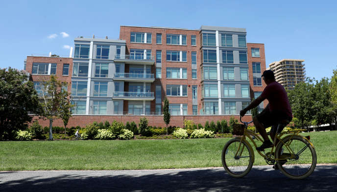 Immeuble à Alexandria en Virginie, près de Washington, où Paul Manafort dispose d'un appartement.