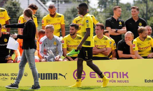 Ousmane Dembélé n'aura passé qu'un an en Allemagne avant de rejoindre Barcelone.