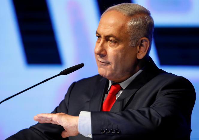 Benyamin Nétanyahou, à Tel-Aviv, le 9 août.