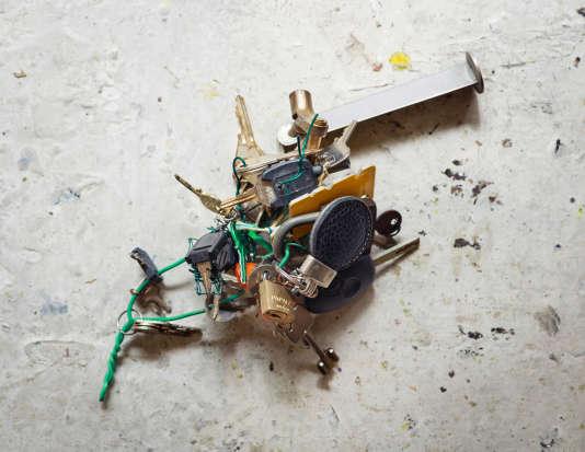 Les clefs, un autre objet decollection pour Jean-Luc Moulène.