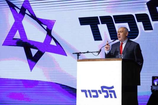 Le premier ministre israélien, Benyamin Nétanyahou, le 9 août à Tel-Aviv.