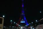 Samedi 5 août, pour l'arrivée de Neymar Jr au PSG, la tour Eiffel a été habillée aux couleurs du club.