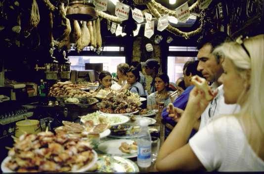 Casa Vergara, à Saint-Sébastien, dans les années 1990.