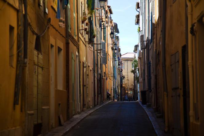 Le quartier du Panier, à Marseille.