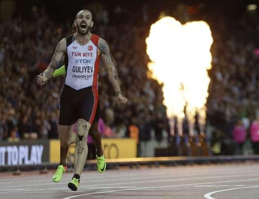 Ramil Guliyev est devenu champion du monde du 200 m.