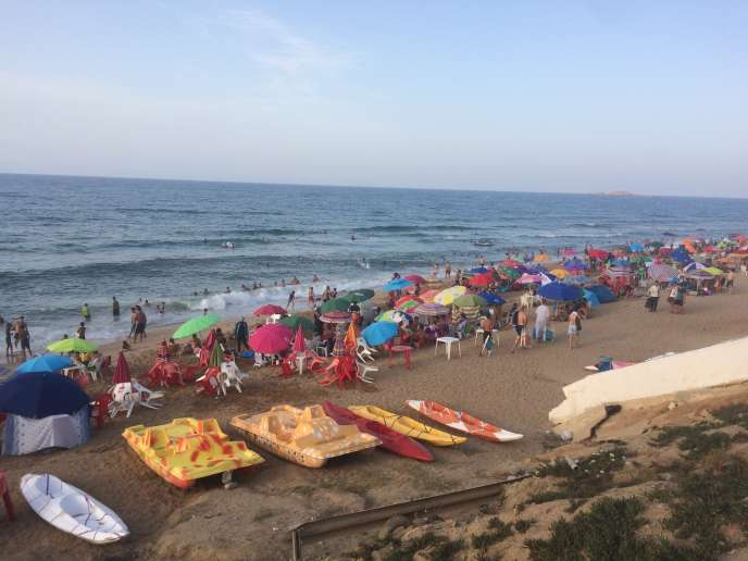 Commune d'Aïn Taya, Alger. Août 2017