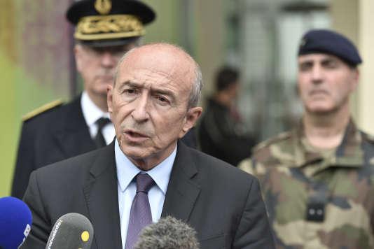 Le ministre de l'intérieur, Gérard Collomb, le 9 août.