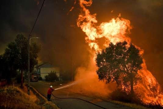 Les villages de Pucariça, Braçal, Medroa et Amoreira ont été évacués.