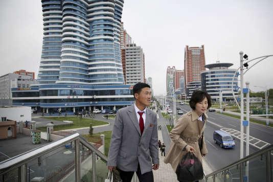 A Pyongyang, le 19 avril.