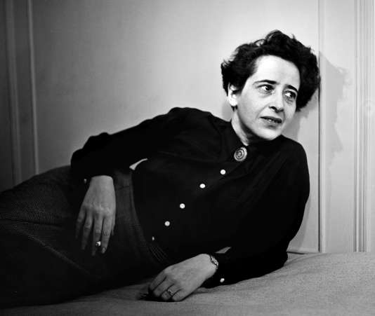 Hannah Arendt en 1944.