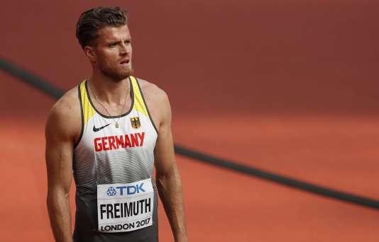 Rico Freimuth, vendredi 11 août.