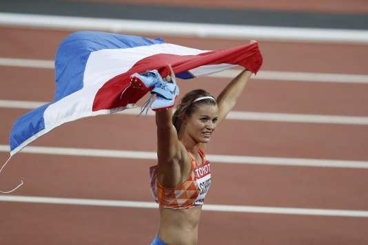 Dafne Schippers est championne du monde du 200 m.